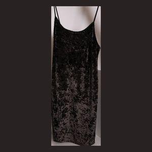 Victoria's Secret Crushed Velvet Slip/Dress